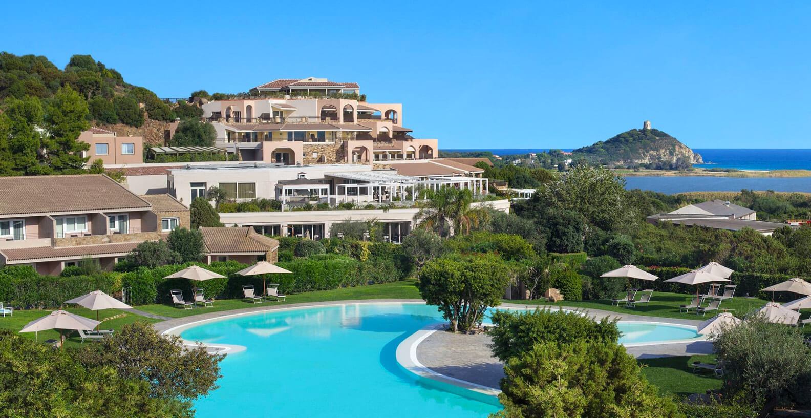 Cartina Sardegna Con Hotel.Hotel Laguna A Chia Hotel 5 Stelle In Sardegna Domus De Maria